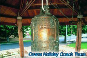coach tour Cowra peace bell