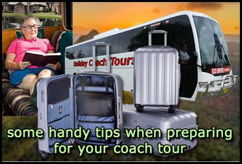 packing tips for coach tours for seniors nsw